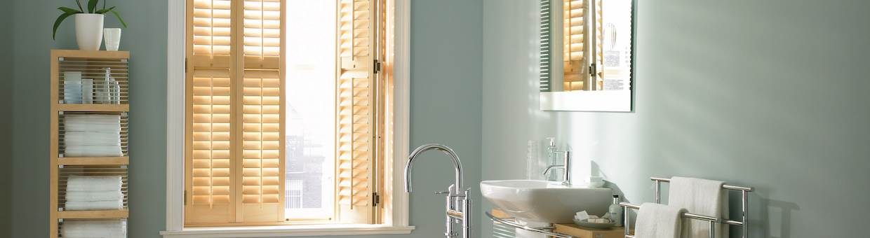 Hardwood Shutters in Hyde