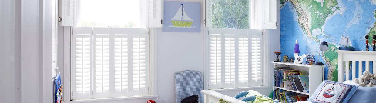 Interior shutters in Hyde