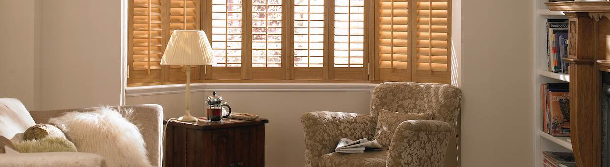 Hyde Wooden Plantation Shutters