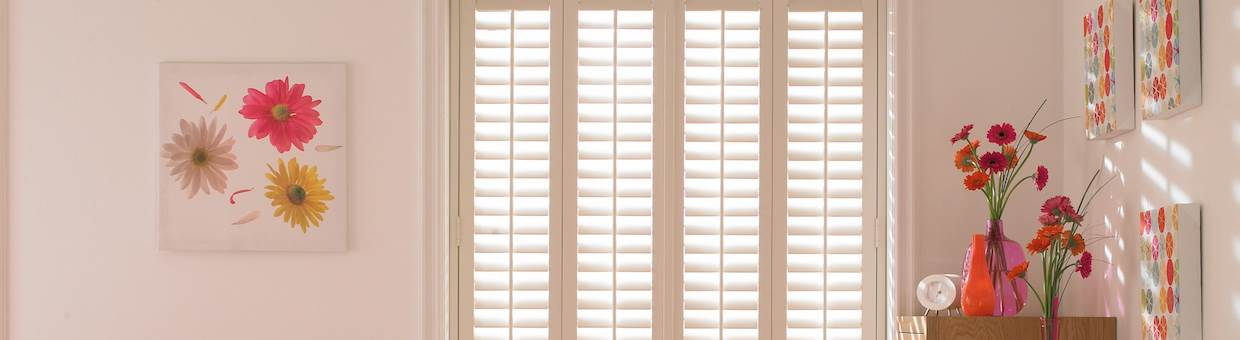 We offer Plantation Shutters in Hyde